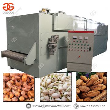 Machine For Nuts Stainless Steel Less Power Consumption Nut Roasting Machine