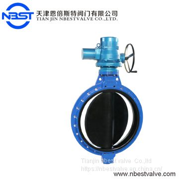 DN550 Worm Gear Operated Wafer Flange Butterfly Valve D371XP-10Q
