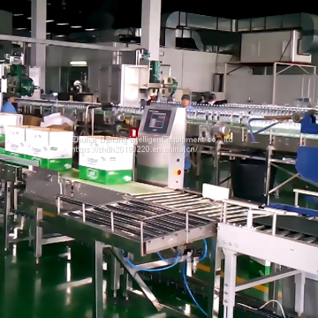 Beverage  industrial using Automatic weighing  instrument