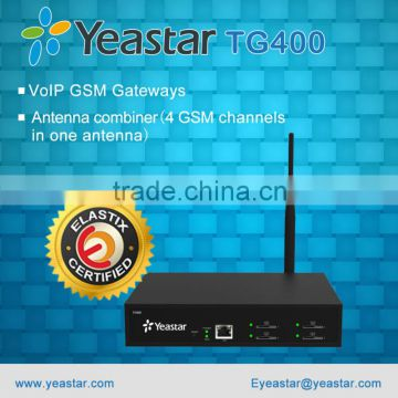 Yeastar TG400 Asterisk VoIP GSM Gateway with 4 GSM Ports of VoIP GSM