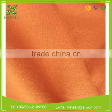 China manufacture bamboo organic cotton Fleece fabric