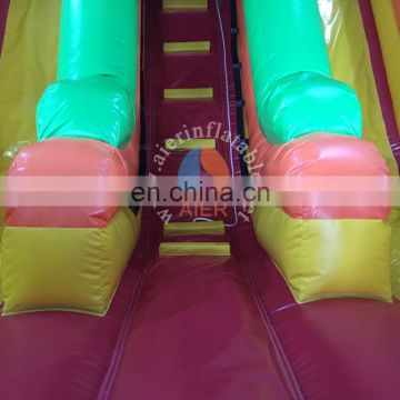 inflatable dry slide cars, giant inflatable cars slide, inflatable cartoon slide for sale