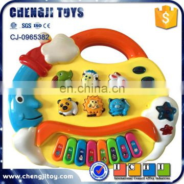 Lovely plastic piano musical instrument electronic toys for kids