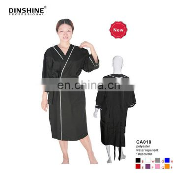 new products water repellent polyester black kimono