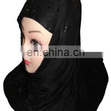 Diamond Stone Work Scarf / Women Indian Ethnic Wear 2017 / Casual Office Out Wear Hijab 2017 (scarves scarf stoles hijab)