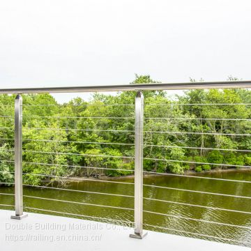 Stainless steel balustrade wire balcony cable railing