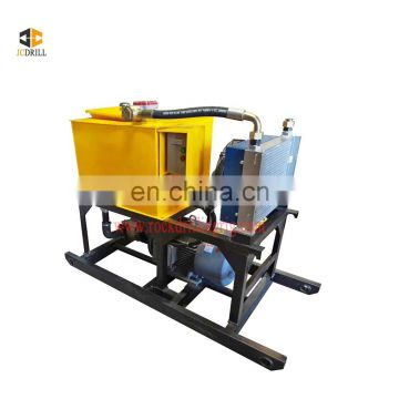Excellent performance soil pneumatic anchor rig machine for wells drilling