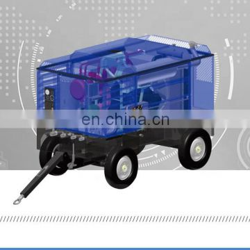 Multifunctional horizontal 2000 psi air compressor for water supplying