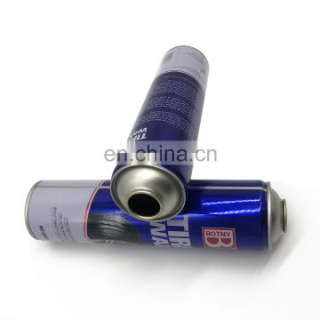 high quality 65mm diameter empty aerosol can for car care products