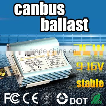 EMC ballast! China light lamp type car headlight hid xenon ac electronic fluorescent light circuit canbus Ballast 12v 24v 35W