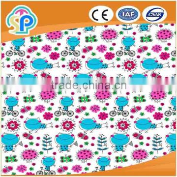 China factory outlet direct cotton flannel fabric for bed sheet