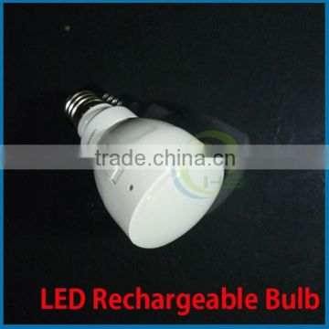 2014 remote control led rechargeable bulb light plastic housing energy saving good performance high quality 3w,rechargeable led