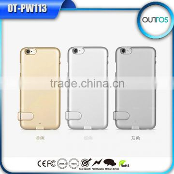 New Item 2016 External Charger 18650 Battery Case for Iphone 6