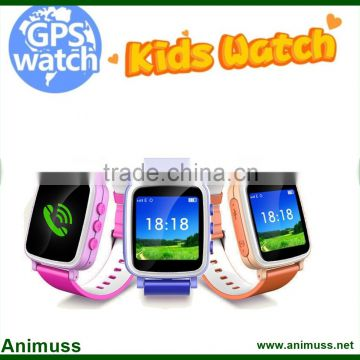LCD WIFI Positioning children Anti lost monitor android smart watch Q80 sos call kids GPS tracker A3 with Sim card                                                                                                         Supplier's Choice
