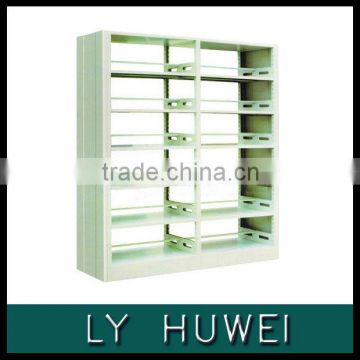 Library metal bookshelving