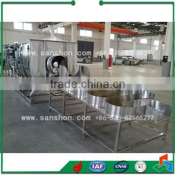 China Vegetable Fruit Blanching Machine