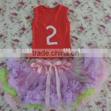 Beautiful Baby Pettiskirt Tutu Dress Infants & Toddlers Age Group Clothing Tulle Colorful TuTu Skirts