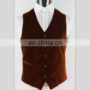 Low price hot-sale fashion formal waistcoat for men