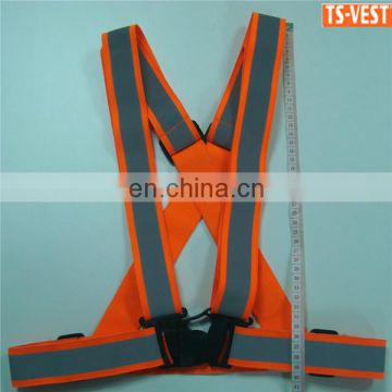 High Quality Running Adjustable Reflective Elastic Safety Belt