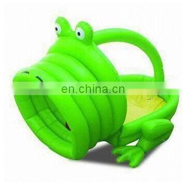 inflatable swimming pool frog mouth