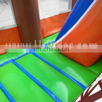 Small cheap inflatable jumping bouncer house castle games for kids