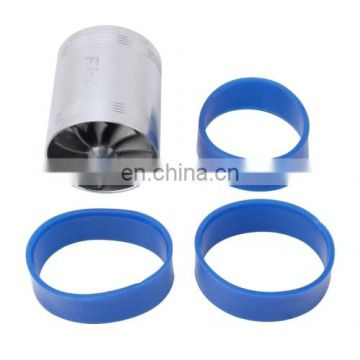 Wholesale Drop Shipping Stainless Turbine Air Intake,Double Side Proper Air Intake Hose,Turbo Fan Fuel Saver,Speed Engine