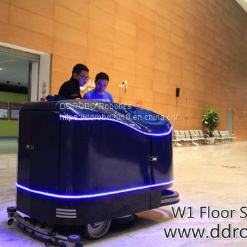 Floor Auto-Scrubber an unprecedented experience of intelligent cleanup
