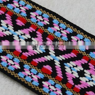 Italy design fashion Jacquard Ethnic tape trim