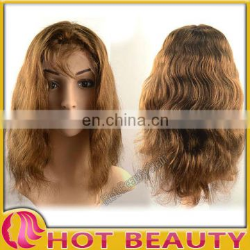 shoulder length human hair lace wig