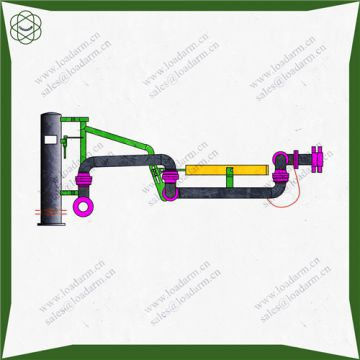 Professional Gas Recovery Compressed Chemical Caustic Soda Top Loading Arm Supplier