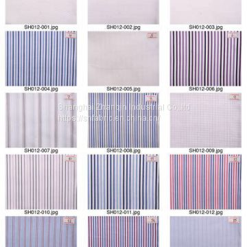 100% COTTON OXFORD FABRIC YARN DYED WOVEN decent quality shirt fabric facotry supply