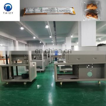 automatic packaging machine candy soap sugar stick cookies paper food packing machine