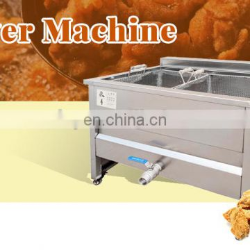 Continuous peanuts frying machine for fries
