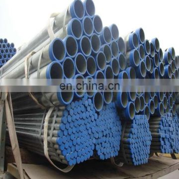 HDG threading deposit price BS1387 hot pre-galvanized GI tube ERW steel pipe