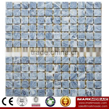 IMARK Honed Grey Marble Stone Mosaic Tile Backsplash Tile Code IVM7-041