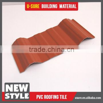 brand new pvc resin corrugated roofing sheet hs code of
