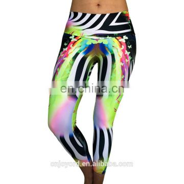 womens fancy fans leggings fashionable