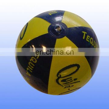 Promotional logo printed Inflatable beach ball