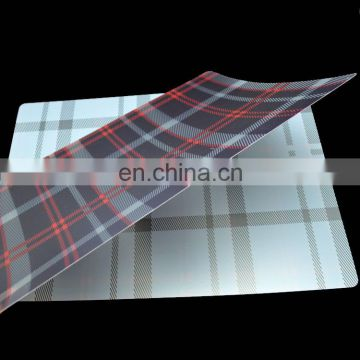Wholsale plastic custom printed placemats manufacturer