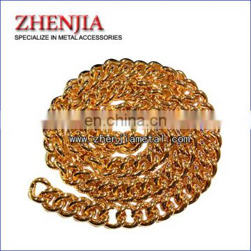 gold color metal bag chains
