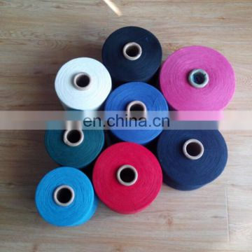 C/T 60/40 yarn for machine knitted seamless gloves