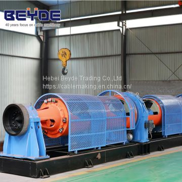 copper wrie steel wire and wire rope stranding machine siemens control system tubular stranding machine