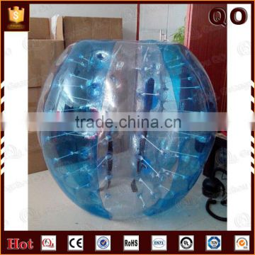 Entertainment equipment outdoor activities transparent zorb ball human sized bumper ball