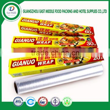 High quality food grade plastic wrap film wholesale plastic wrap plastic  food wrap