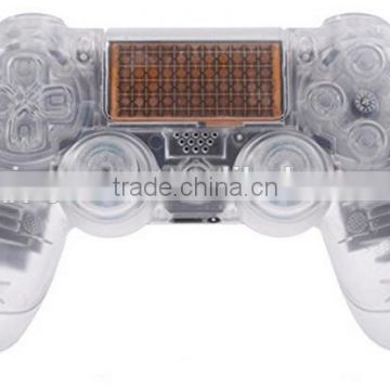 color Transparent Clear crystal Controller Full Housing Shell for Dualshock for PS4 for Playstation 4 Clear Controller shell