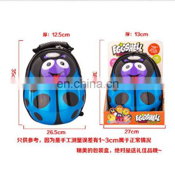 Catoon kids back pack Plastic children cardboard suitcase wholesale