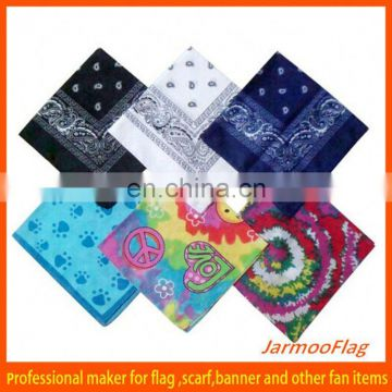 wholesale custom floral square scarf