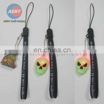 flashing mobile phone strap