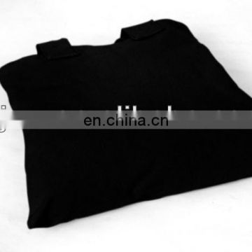 black blank cotton tote bags