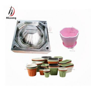 taizhou mould maker injection flower pot making mould